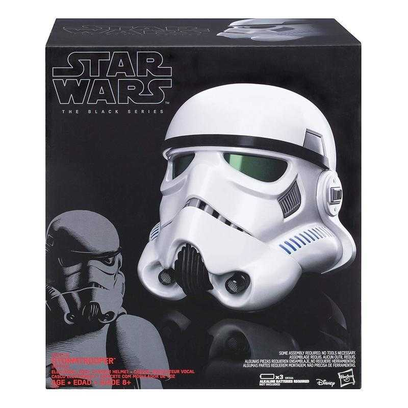 杯麵!# 現貨! 星際大戰 Star wars 黑標 帝國軍 白兵 暴風兵 1:1 變聲頭盔
