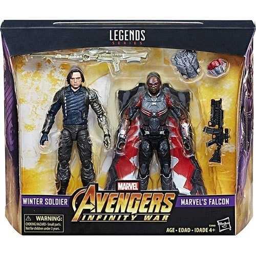 杯麵!# 現貨! 孩之寶 漫威 Marvel Legends 酷寒戰士 獵鷹 一套兩款