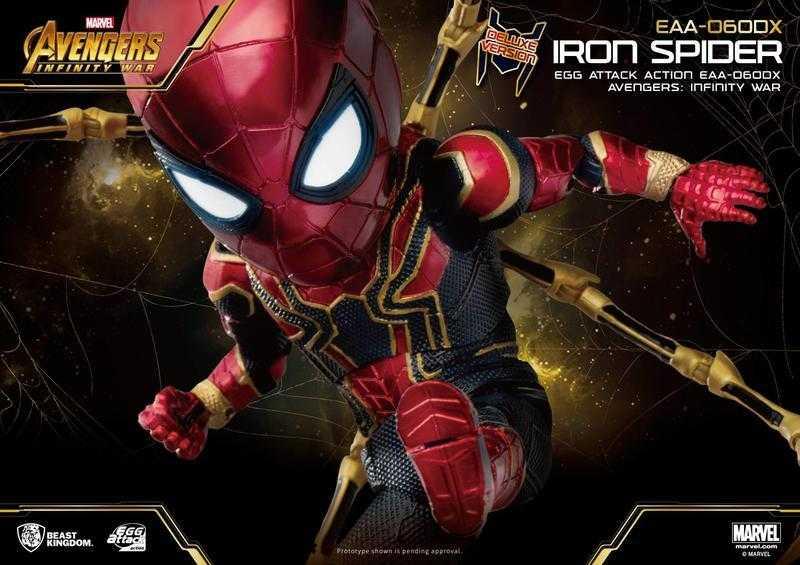 野獸國 EAA-060DX 復仇者聯盟無限之戰 鋼鐵蜘蛛人 豪華版