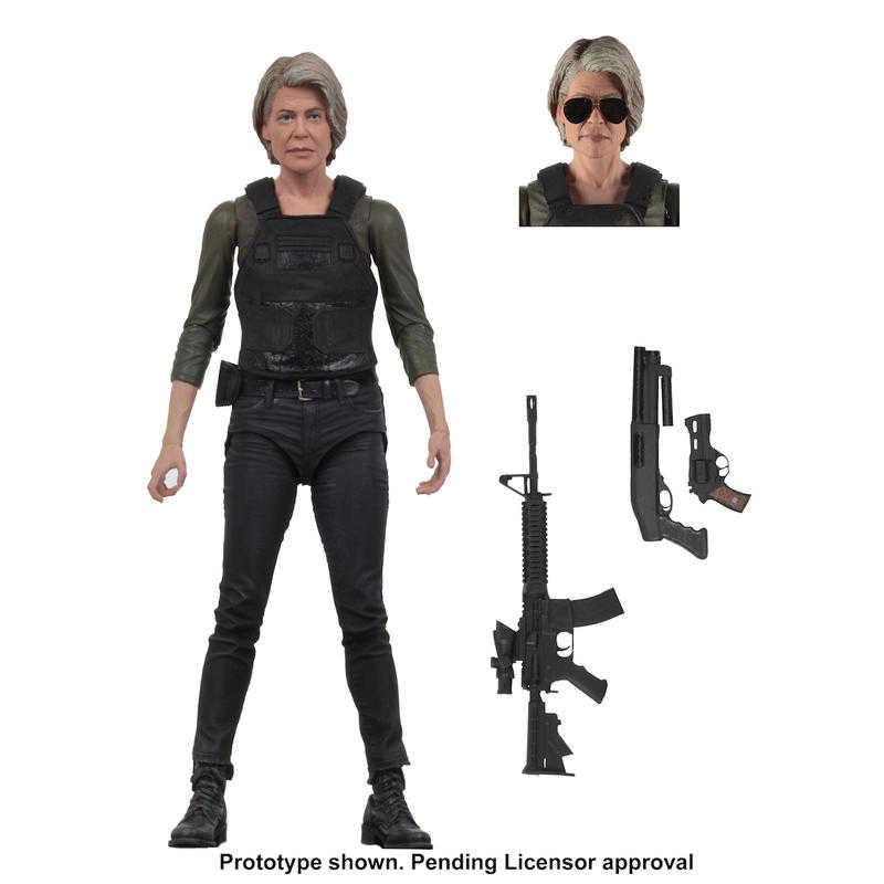 【預購】NECA 魔鬼終結者:黑暗宿命 Terminator 沙拉 康納 7吋可動