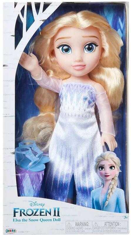 迪士尼 冰雪奇緣2 Frozen 2 覺醒造型 艾莎 娃娃 現貨代理K