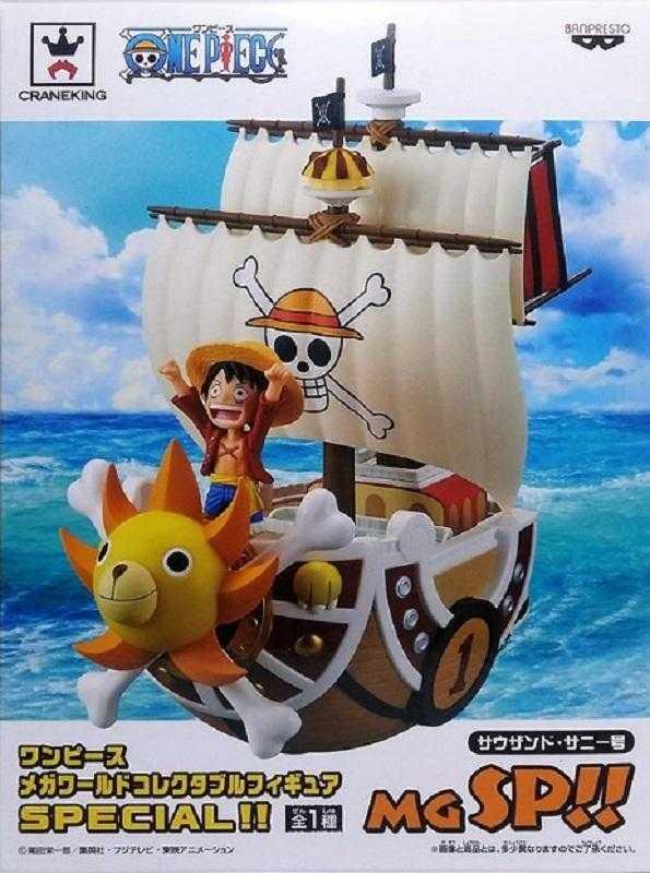 景品 海賊王 MEGA WCF SPECIAL 魯夫 草帽海賊團 千陽號 1月預購代理