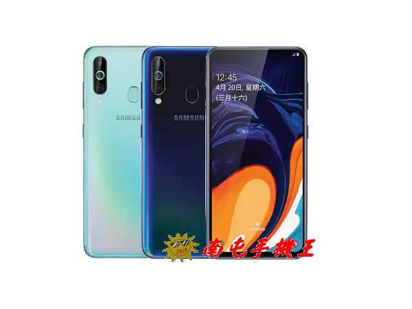 《南屯手機王》SAMSUNG Galaxy A60  6.3吋 6GB+128GB【宅配免運費】