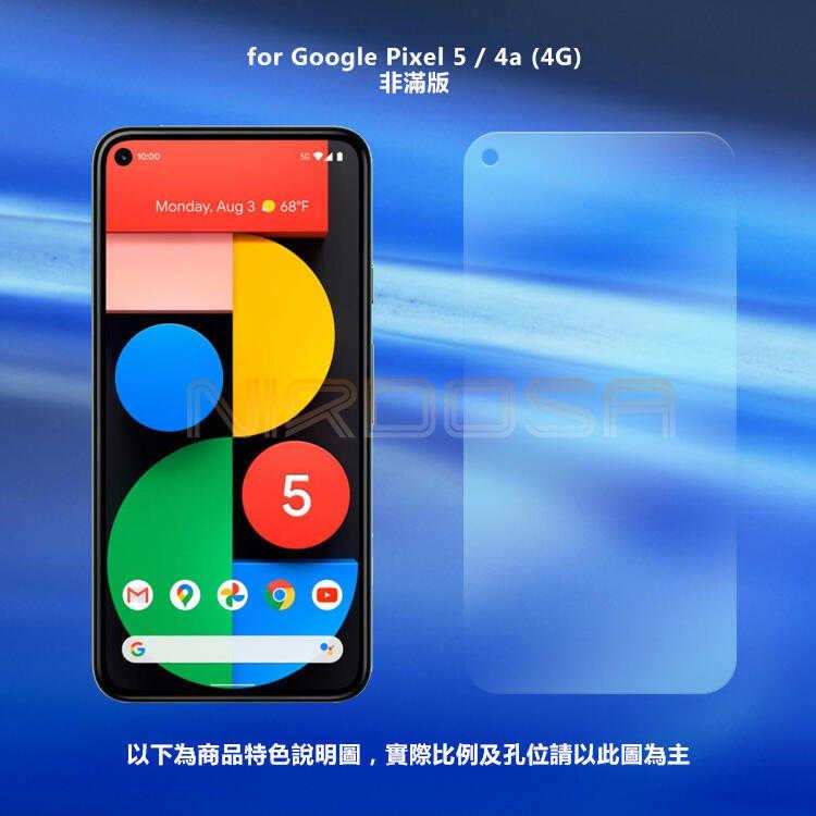 【愛瘋潮】 NIRDOSA Google Pixel 5 (5G) / 4a (4G) 鋼化玻璃 螢幕保護貼 防刮