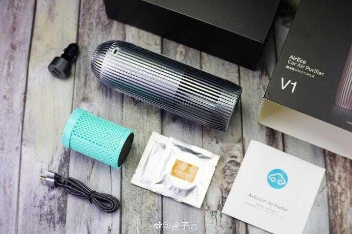 【愛瘋潮】Neekin AirEco 悅呼吸 V1 車用空氣淨化器 清淨機