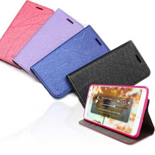 【愛瘋潮】現貨 適用 Sharp AQUOS M1 冰晶系列 隱藏式磁扣側掀皮套 保護套 手機殼 可插卡 可站立