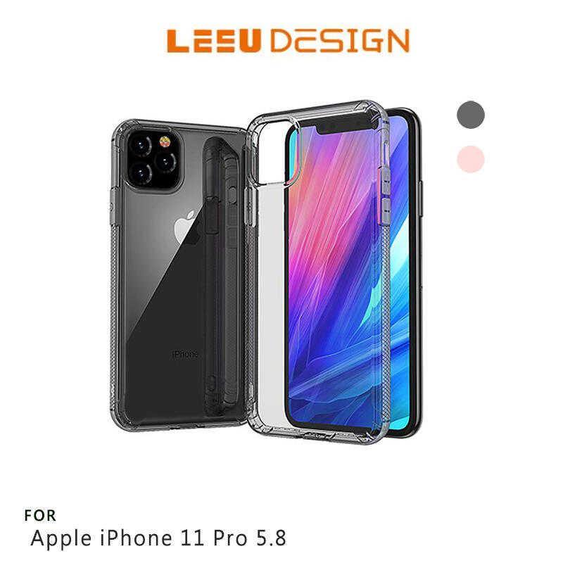 【愛瘋潮】LEEU DESIGN iPhobe 11 Pro 5.8吋 鷹派 隱形氣囊保護殼