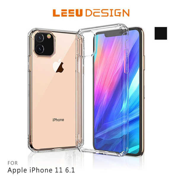 【愛瘋潮】LEEU DESIGN Apple iPhone 11 6.1 獅凌 八角氣囊保護殼 手機殼 透明殼