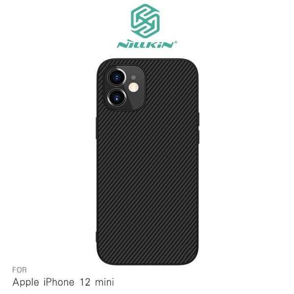 【愛瘋潮】NILLKIN Apple iPhone 12 mini (5.4吋) 紋纖盾保護殼 背殼 手機殼 手機套 保