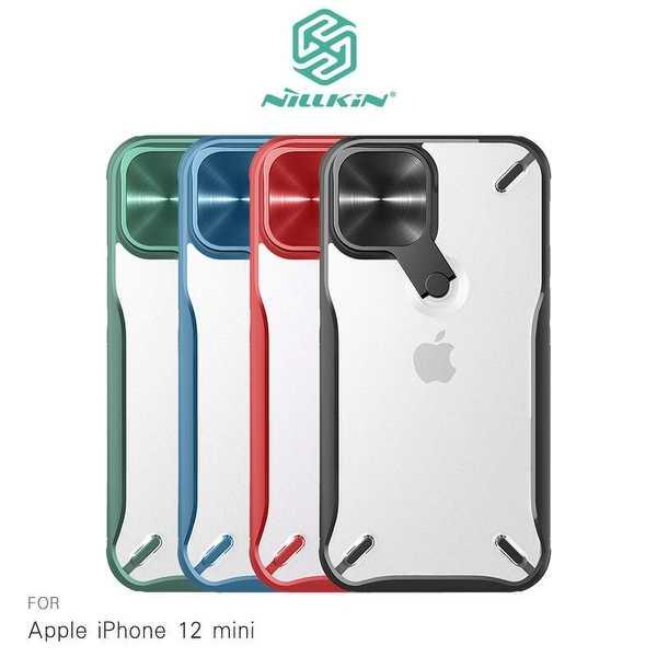 【愛瘋潮】NILLKIN Apple iPhone 12 mini 5.4吋 炫鏡支架保護殼 是支架也是鏡頭蓋 手機殼