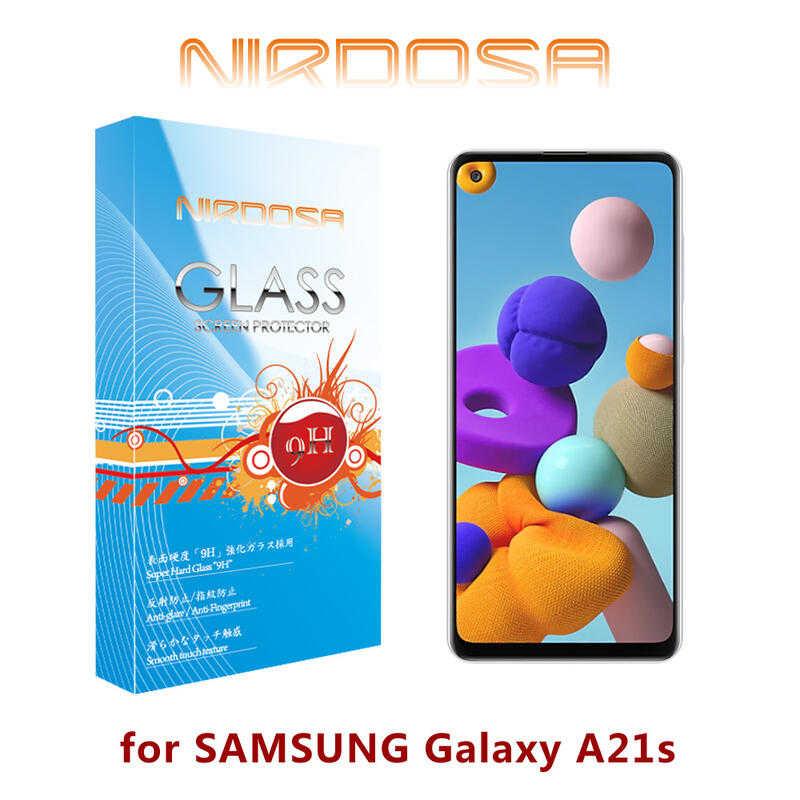 【愛瘋潮】NIRDOSA SAMSUNG Galaxy A21s 9H 0.26mm 鋼化玻璃 螢幕保護貼