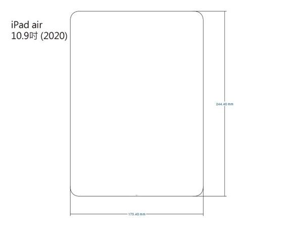 【愛瘋潮】Apple iPad Air 10.9吋(2020) iMOS 3SAS 防潑水 防指紋 疏油疏水 螢幕保護貼