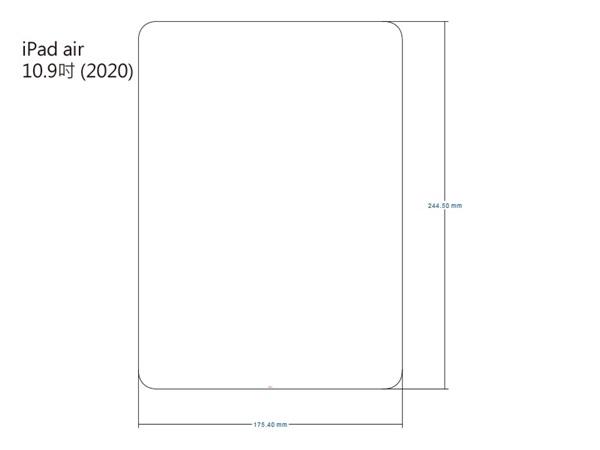 【愛瘋潮】iMOS iPad Pro Air4 10.9吋 2020 SOLID-EX 9H 美國康寧0.3mm 玻璃貼