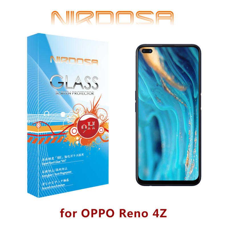 【愛瘋潮】NIRDOSA OPPO Reno4 Z 鋼化玻璃 螢幕保護貼 防刮 防爆