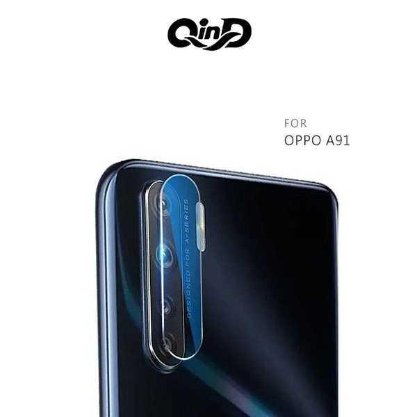 【愛瘋潮】QinD OPPO A91 鏡頭玻璃貼(兩片裝)