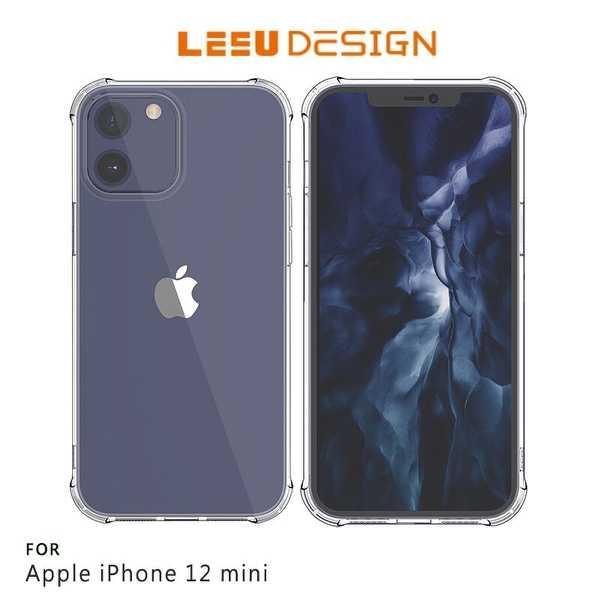 【愛瘋潮】LEEU DESIGN Apple iPhone 12 mini (5.4吋) 犀盾 氣囊防摔保護殼 手機殼
