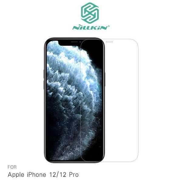 【愛瘋潮】NILLKIN iPhone 12/12 Pro(6.1吋) Amazing H+PRO 鋼化玻璃貼 非滿版