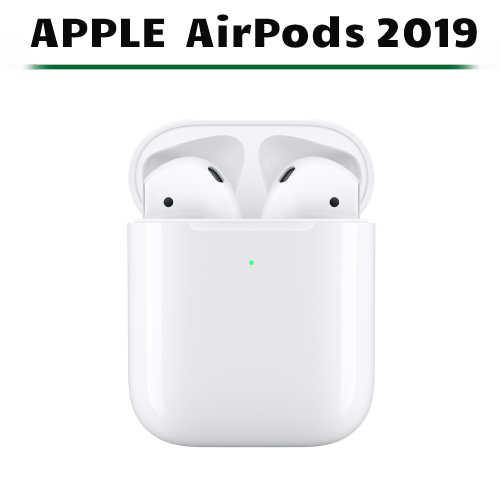 [公司貨] Apple AirPods 藍芽耳機 2019 搭配無線充電盒 MRXJ2TA/A