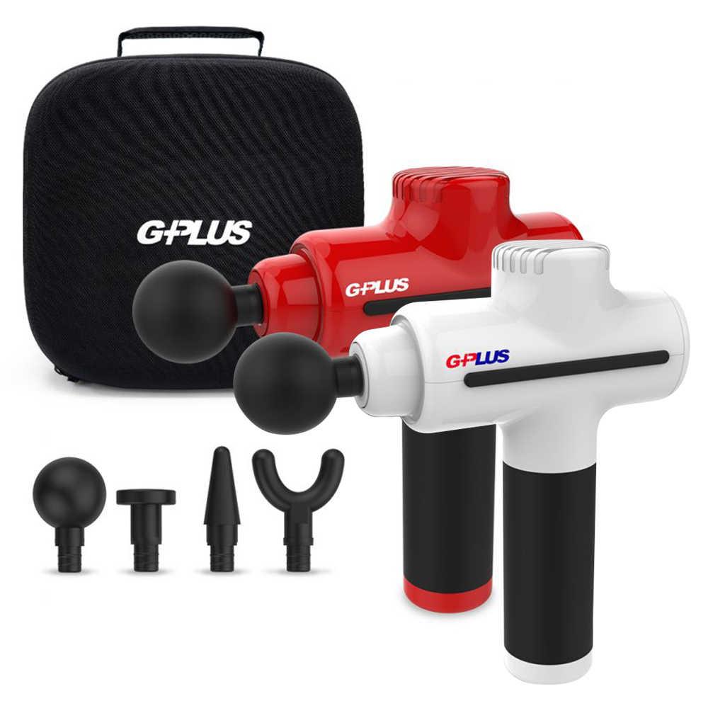 【送GPLUS SB-A001SX 小陀螺藍牙喇叭】GPLUS GP-M01 國民筋膜按摩槍(無刷強力馬達)
