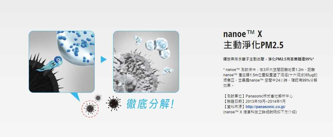 Panasonic 國際牌 10L 除濕機 nanoe X 奈米科技 F-Y20FH