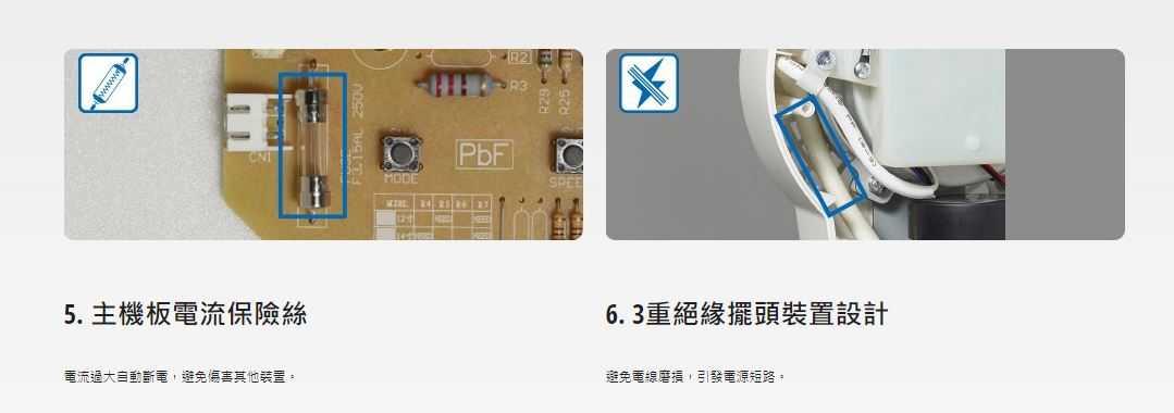 Panasonic 國際牌 16吋 微電腦立扇 金屬鋼柱強化設計  雅薄扇頭設計 F-H16MR-B