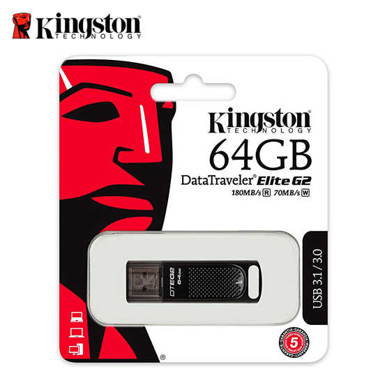 金士頓 KINGSTON 64G DataTraveler Elite G2 高速隨身碟
