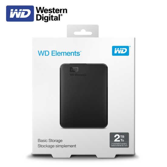 WD Elements 2.5吋2TB