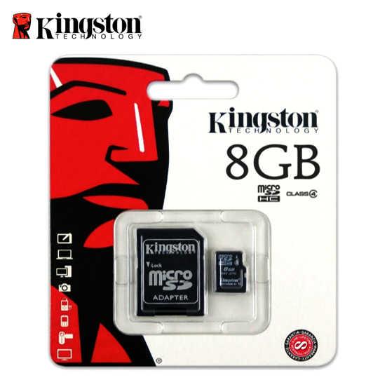 c4 附轉接卡 金士頓 8G Kingston Micro SDHC  記憶卡 小卡 原廠公司貨