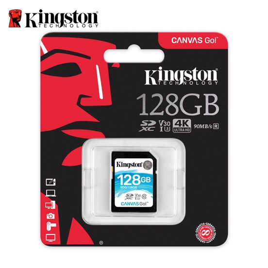 金士頓 128G Kingston Canvas GO! SDHC UHS-I U3 V30  記憶卡