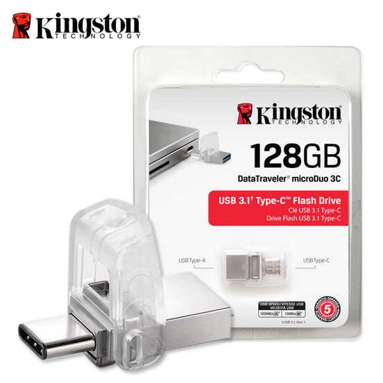 金士頓 Kingston Data Traveler MicroDuo 3C Type-C 迷你兩用隨身碟 64G