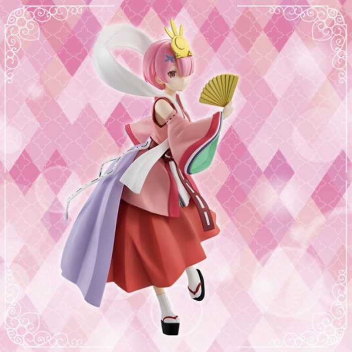 FuRyu 景品公仔 Re:從零開始的異世界生活 SSS童話系列 拉姆 竹取公主 珍珠色ver. 【鯊玩具】