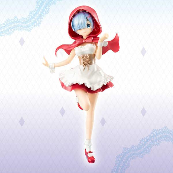 FuRyu 景品公仔 Re:從零開始的異世界生活 雷姆 小紅帽 珍珠色 【鯊玩具Toy Shark】
