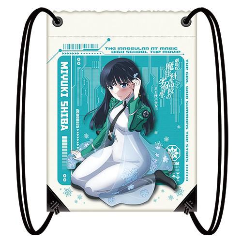 魔法科高中的劣等生 呼喚繁星的少女 輕便束口後背包(2)