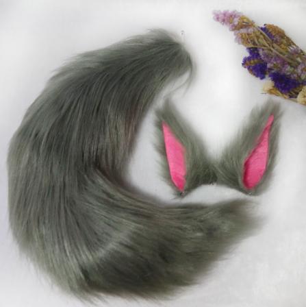 狐狸獸耳+獸尾
