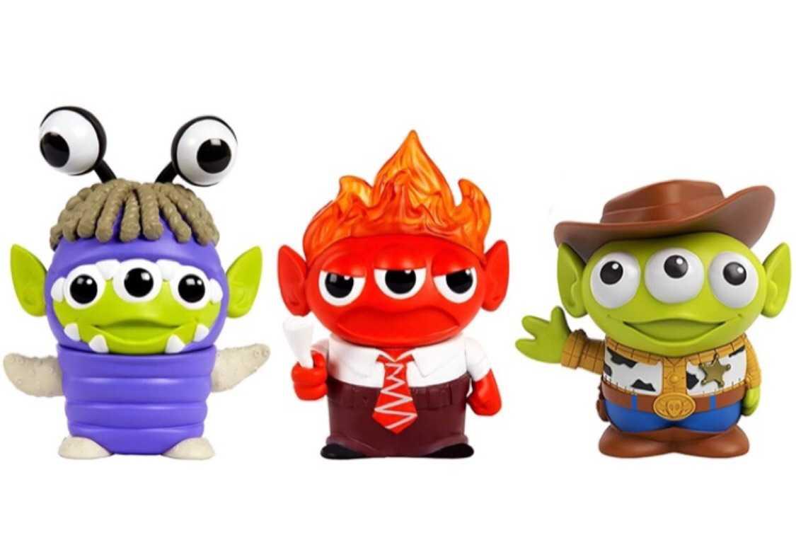 【愛蛋客】現貨 美版 變裝三眼怪 迪士尼皮克斯 玩具總動員 盒玩 公仔 全三種