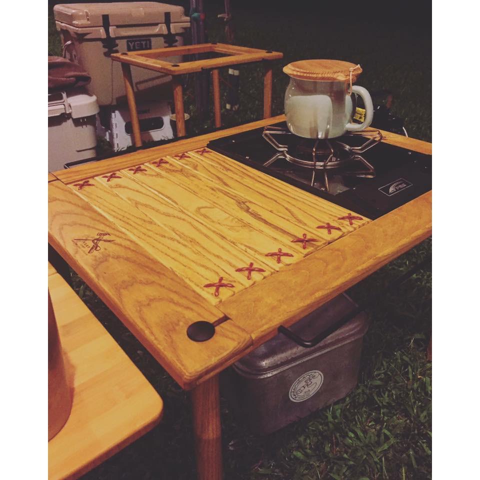 VERY CAMP 職人手作玩桌系列 大玩桌 小玩桌 摺疊桌 木桌 露營 野餐 居家 小桌【露戰隊】 大玩桌