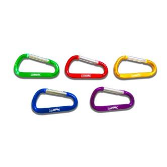 Camperson D型扣環(7公分)-藍色(10個1組+送收納袋)【露戰隊】