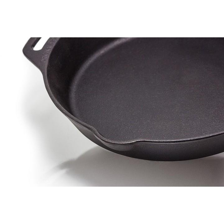 Petromax雙耳鑄鐵煎鍋 30/35/40cm 鑄鐵鍋  煎鍋【露戰隊】 35CM