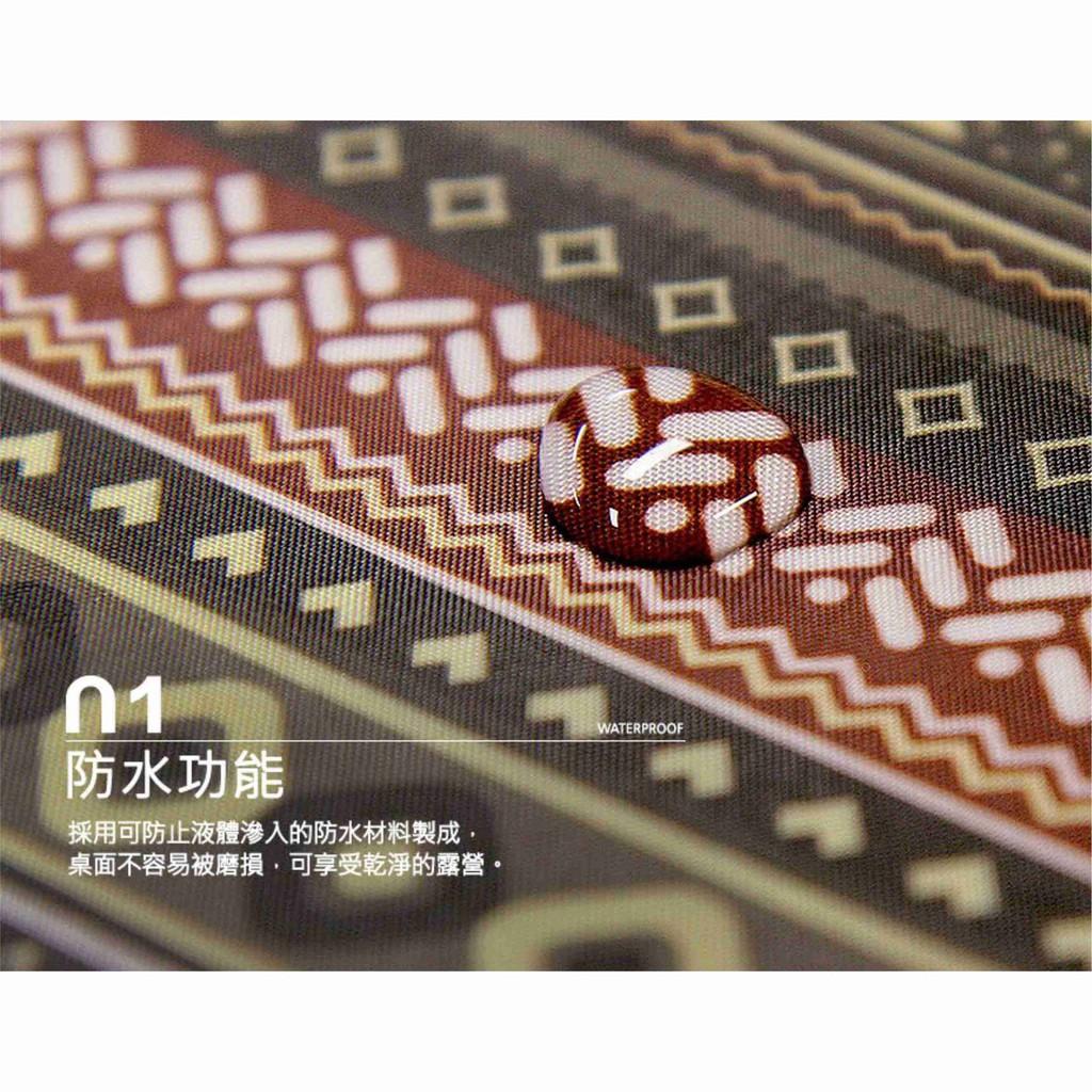 KAZMI 彩繪民族風防水桌巾 K8T3Z003 防水 民族風 大尺寸 桌布 桌墊 防水墊【露戰隊】