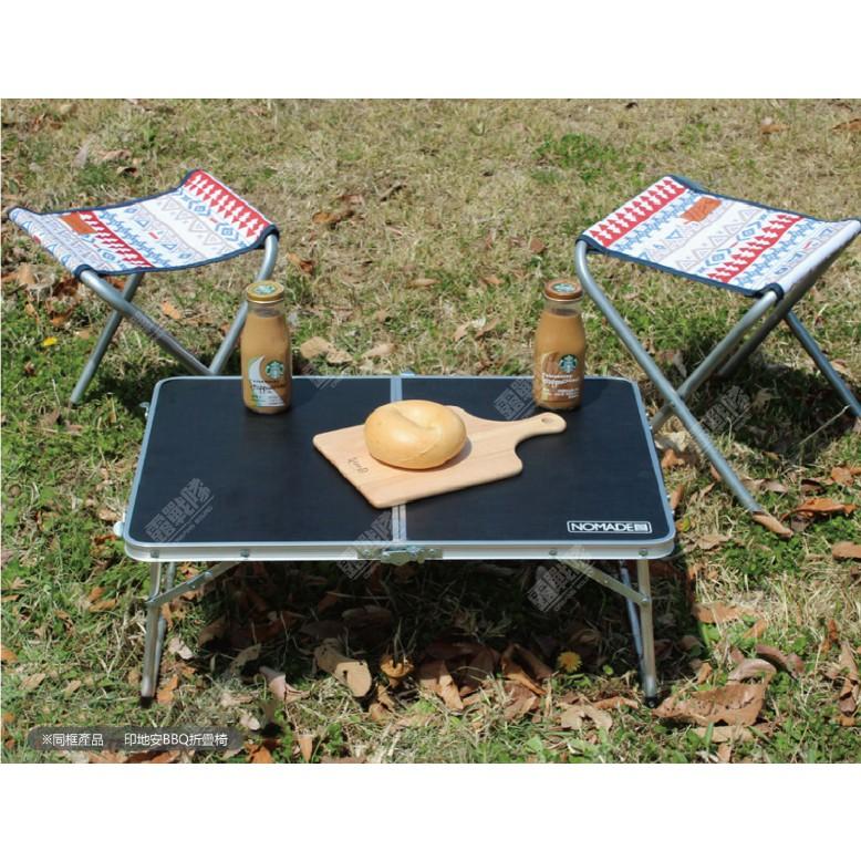 NOMADE 輕量摺疊小桌 露營 野餐 戶外 野營 攜帶桌 邊桌 摺疊桌 折疊桌 折桌 露營桌 輕量桌  【露戰隊】