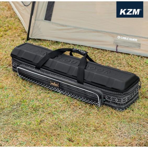 KAZMI KZM 硬殼營柱收納袋 營柱收納袋 營柱 收納袋 工具袋 露營 野營 露營配件包 硬殼袋【露戰隊】
