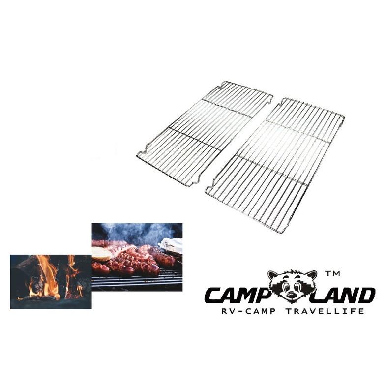 【露戰隊】CAMP LAND 無敵小金鋼極厚款強化烤網 210BX系列通用(兩片一組)(RV-ST230-5)
