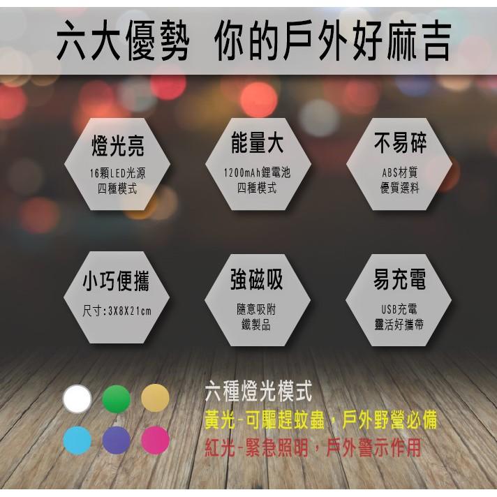 Horizon 天際線多功能磁吸驅蚊露營燈-酷黑【露戰隊】