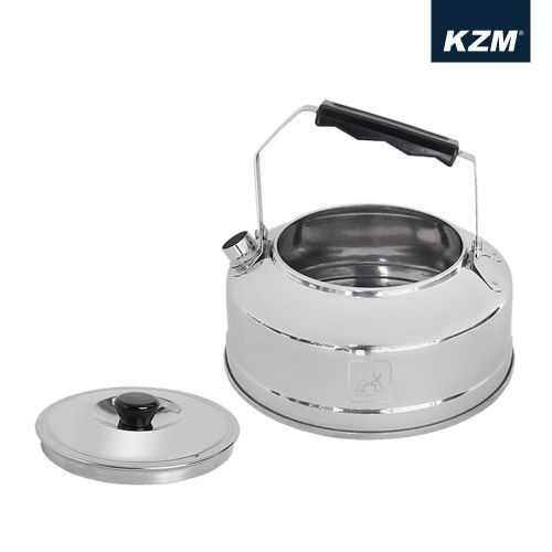 KAZMI SUS304 18/8 超輕量不鏽鋼茶壺0.8L K3T3K045  燒水壺 泡茶 泡咖啡 【露戰隊】