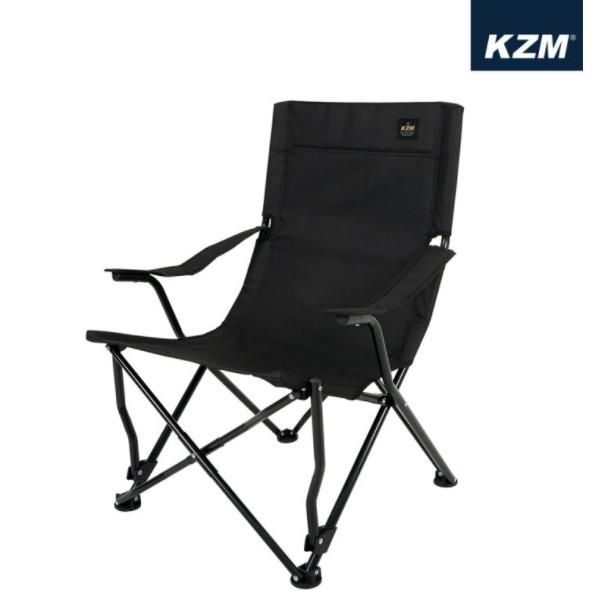 KAZMI KZM 素面布手把折疊椅 露營椅 躺椅 休閒椅 椅 戶外椅 庭院椅 花園椅【露戰隊】 卡其色