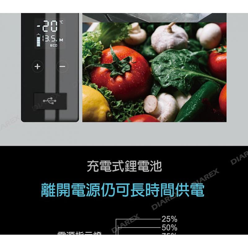 ProKamping 2021年版 內建鋰電池(15600mAh)行動冰箱-62L 兩年保固