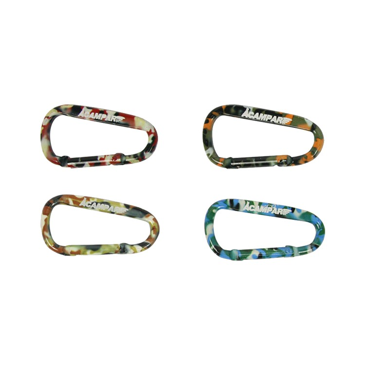 ACAMPARD型扣《四入》不易掉色 露營 戶外 露營 迷彩 小花 熱轉印|AC00119【露戰隊】 小花(四入)