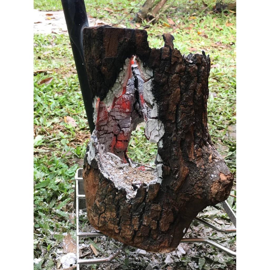 瑞典火炬 木頭焚火台 驅蚊 營火 木碳 木頭 露營 【露戰隊】 中尺寸