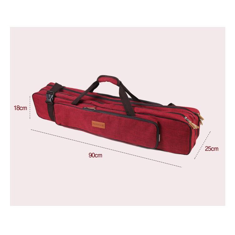 600D雙層營柱袋 紅 營柱 保護袋 營柱包 裝備袋 收納 營柱收納袋 天幕桿包 營釘包 工具袋 N7181【露戰隊】