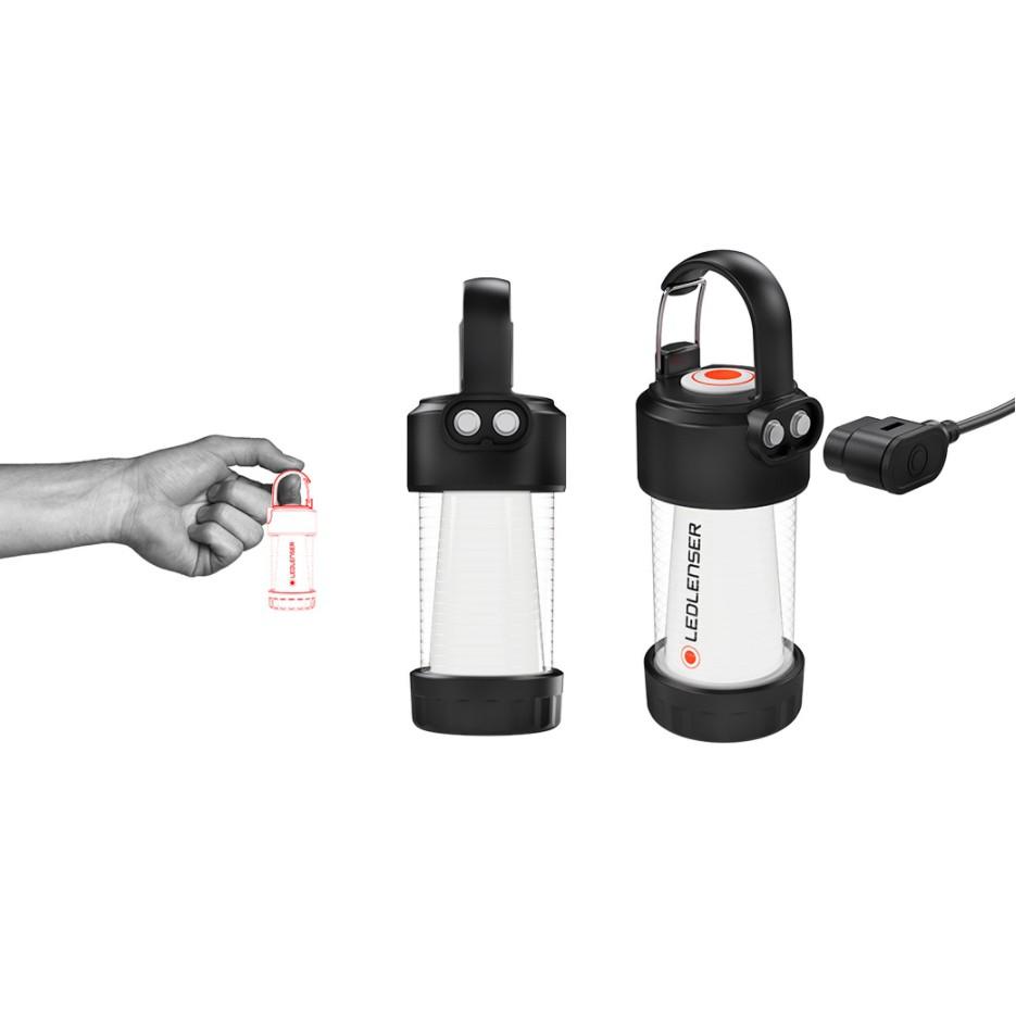 LED LENSER ML4 專業充電式照明燈/露營燈/ 300流明-黃光【露戰隊】
